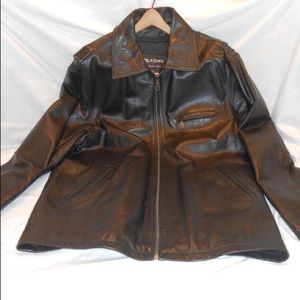 Gently Used Wilsons Men's Leather Jacket